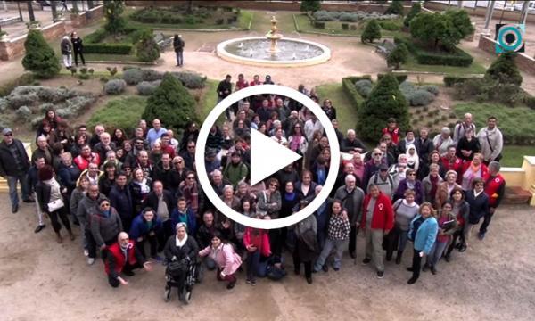 180 voluntaris de la demarcació de Tarragona participen a la Selva en la 11ena Trobada Provincial de Voluntariat de la Creu Roja