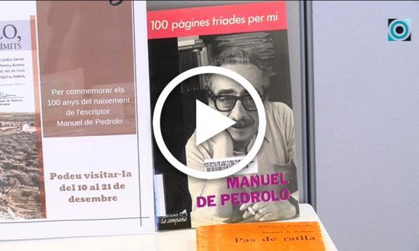 L'univers pedrolià aterra a la Biblioteca per commemorar l'any Manuel de Pedrolo