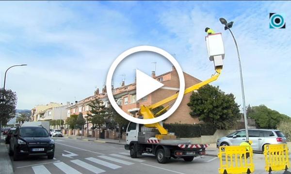 Cinc carrers del marge esquerre de l'Eixample incorporen nova il·luminació amb tecnologia LED