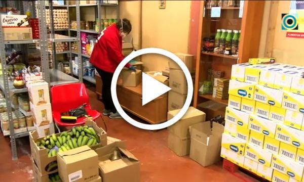 El voluntariat de Creu Roja segueix treballant pels col·lectius més afectats per la crisi sanitària