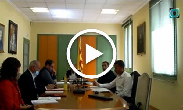 La crisi originada per la Covid-19 centra el primer ple telemàtic de l'Ajuntament de la Selva