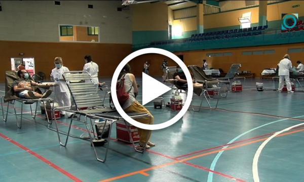 Pugen de nou les donacions de sang a la Selva tot i la crisi sanitària