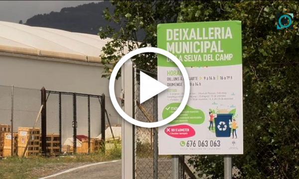 La deixalleria municipal actualitza els horaris i renova la cartelleria