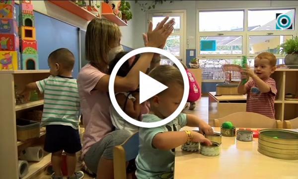 Les escoles bressol municipals obren les portes d'un nou curs segur per als infants, famílies i docents