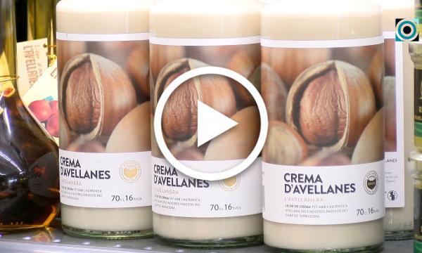 L'Avellanera comercialitza el seu primer licor de crema d'avellanes