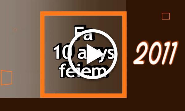 FA 10 ANYS FÈIEM   Diada Nacional de Catalunya