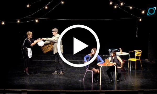 """Humor absurd, quotidianitat i jocs de paraules a """"Tafalitats"""", del grup de teatre Moixera"""