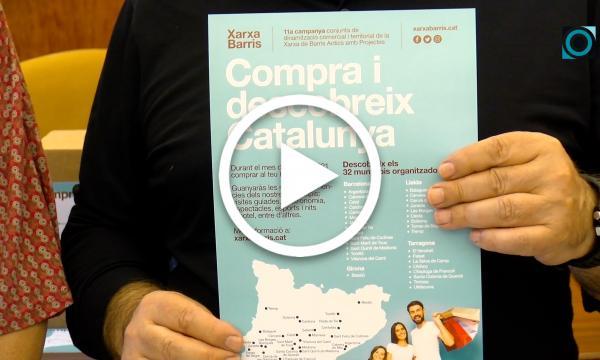 """La Selva se suma de nou a la campanya dinamitzadora del comerç local """"Compra i descobreix Catalunya"""""""