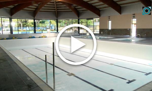 Les piscines cobertes se sotmeten a les habituals tasques de manteniment