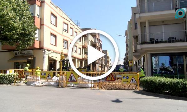 Comencen les obres de remodelació del carrer Joan Domingo