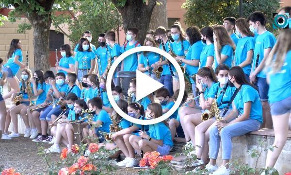 La banda juvenil de l'Aula Vilalta celebra cinc anys de música amb un concert retrospectiu