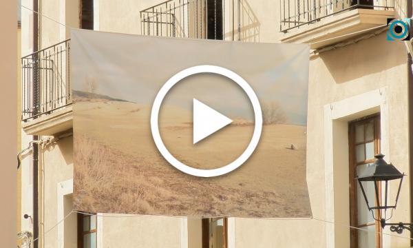 """La mostra """"Art per a tu"""" arriba a la Selva amb una al·legoria sobre l'abandonament de les terres agrícoles"""