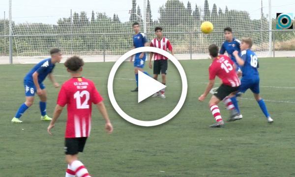 La victòria 1-0 contra el Santes Creus situa el cadet A a les zones altes del seu grup