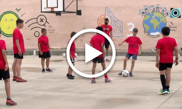 Terceres jornades de tecnificació de Futbol Sala organitzades pels Huracans