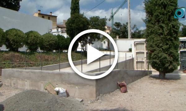 El cementiri millora la seva accessibilitat i la mobilitat interior per a persones discapacitades