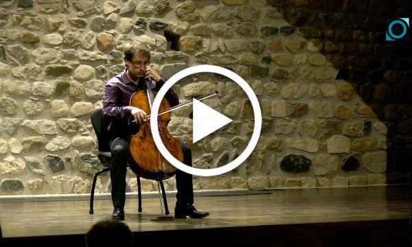 Josep-Oriol Miró homenatja Pau Casals amb peces al violoncel