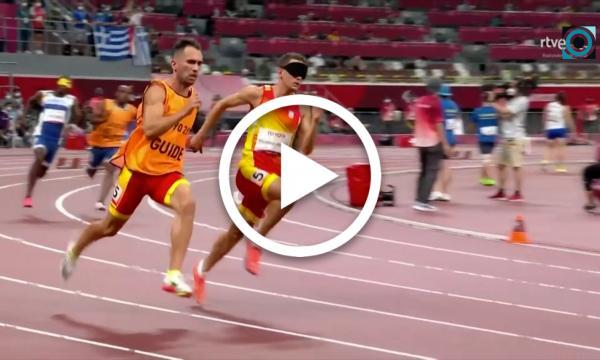 El selvatà Gerard Descarrega, or als paralímpics de Tòquio en 400 metres