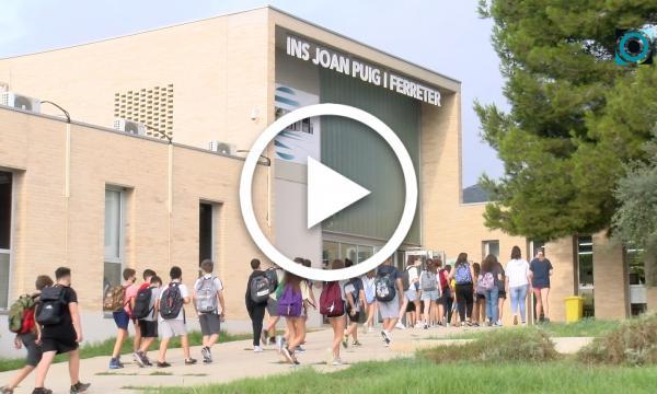 L'institut Joan Puig i Ferreter arrenca el curs del seu 25è aniversari