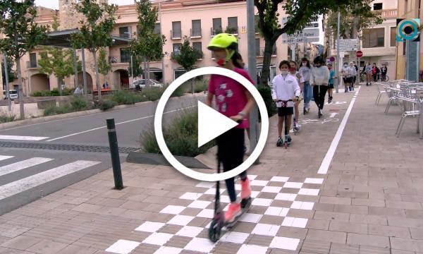 L'Ajuntament promou tallers de mobilitat sostenible als centres educatius selvatans