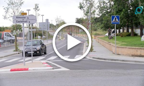 La inauguració de la carretera d'Almoster es completarà amb l'estrena dels carrers President Companys i Joan Domingo