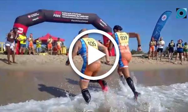 El Club Excursionita Arítjol consolida la seva presència al 2n Campionat de Marxa Aquàtica a Creixell