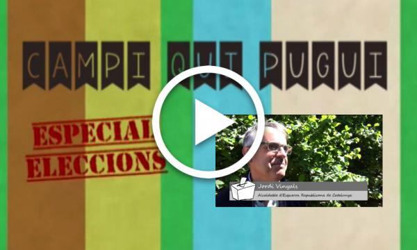 CAMPI QUI PUGUI Especial Eleccions. ERC Jordi Vinyals