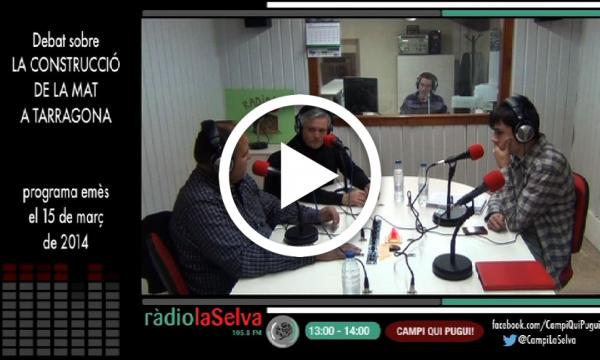 Debat sobre la construcció de la MAT a Tarragona